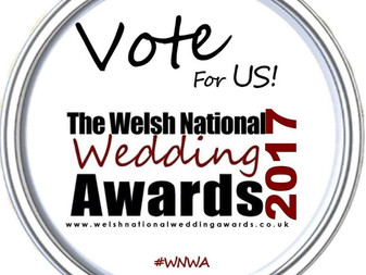 Welsh National Wedding Awards ❤️