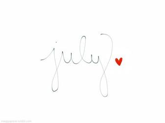 July ... ☀️