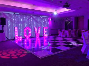 Starlit Events New Fairy Light backdrop