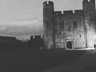 Last weekend at caerphilly castle with the starlit selfie mirror Amazing Venue.