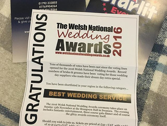 Starlit Events Shortlisted for the Welsh National Awards 2016