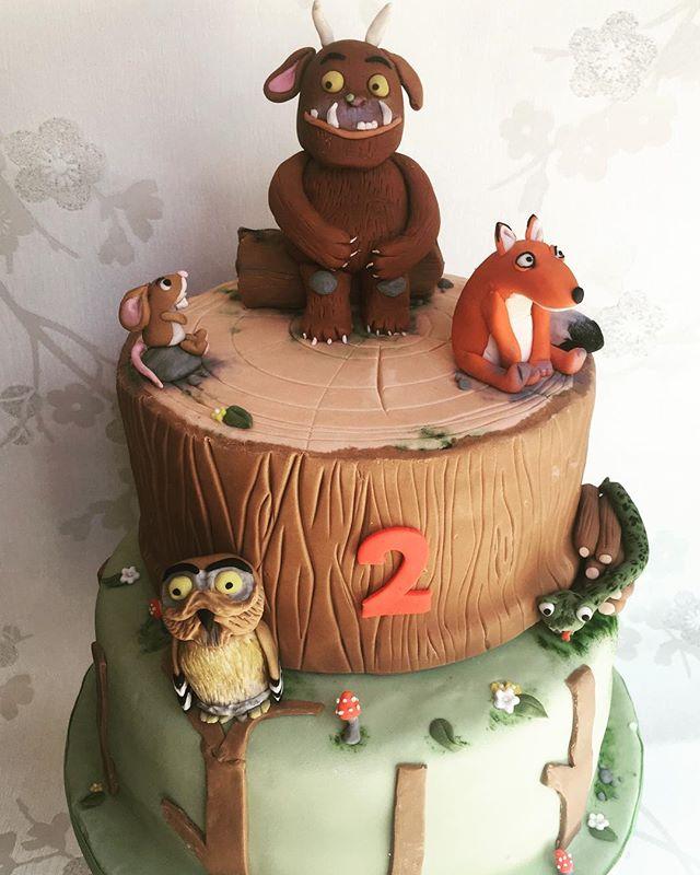 #gruffalocake #gruffalo #2ndbirthday #newcastlecakedecorator #cakecakecakenewcastle