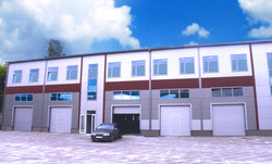 Conduct Linia office-centre and auto-service by Promstroi-Grup