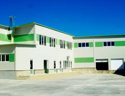 Фабрика Milina Комрат. Проектирование, строительно-монтажные работы.