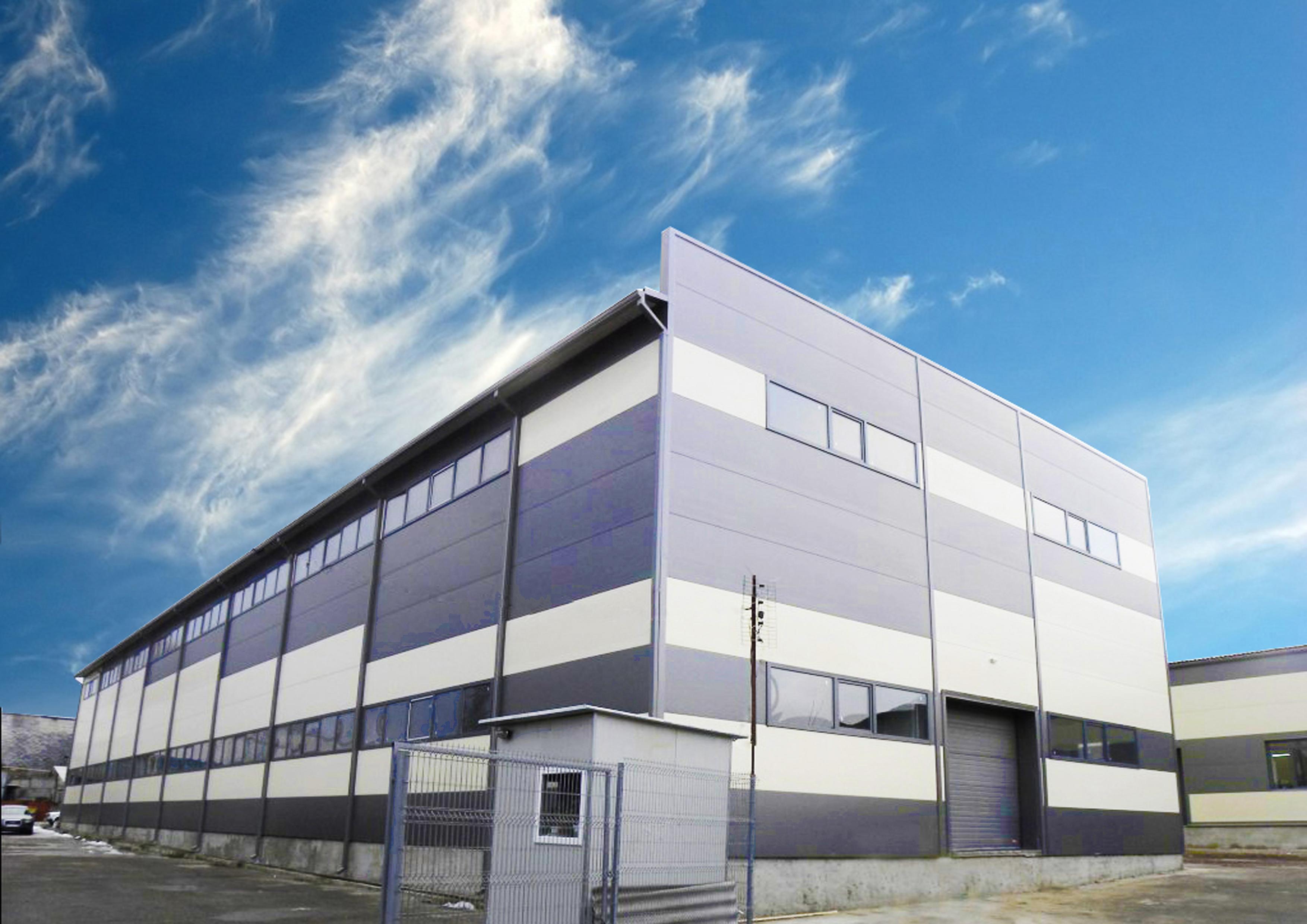 Строительство комплекса складов Riul Vechi
