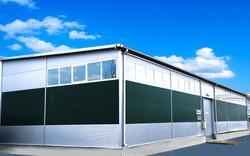 Теплый склад в Кишиневе. Строительство промышленное Раду