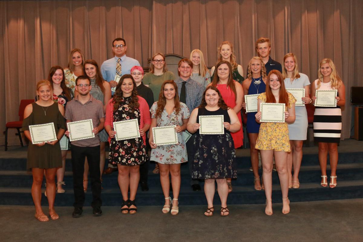 Health Care Scholarship winners.jpg