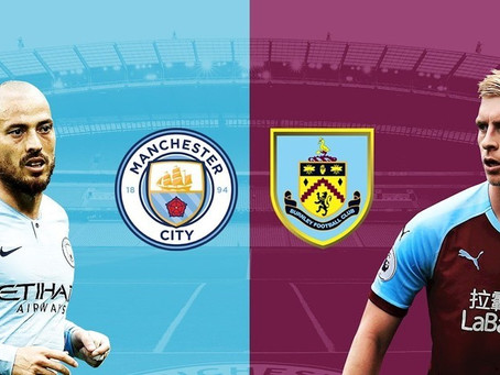 EPL FREE LIVE STREAM: Man City vs Burnley F.C