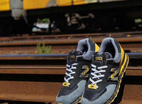 """South Africa Sneaker Culture History: New Balance x Shelflife x Dr.Z  """"City of Gold 574"""""""