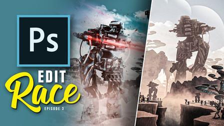 2 Digital Artists use the same stock images! (photoshop)   Edit Race S1E3 116,281 views•Nov 30, 2019