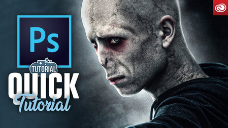 How to turn yourself into SAD Voldemort! (photoshop)