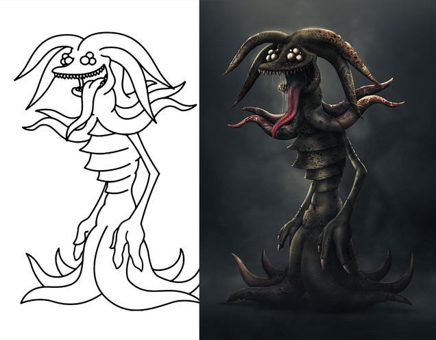 Tentacle Monster Realistified