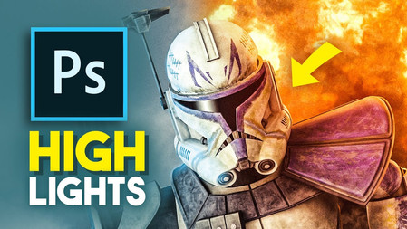 How to create stylish highlights in Photoshop CC 2020!