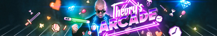 Theory's Arcade Channel Art