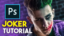 How to turn yourself into the Joker! (photoshop) part II