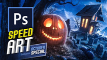 All Hallows Eve | Speed Art (Photoshop) | October Special