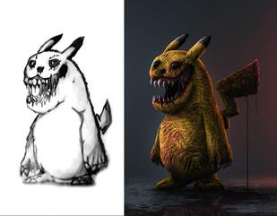 Horror Pikachu