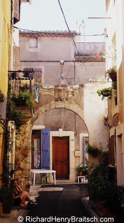 Street Scene on Elba