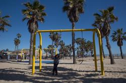Dreads & Swings (Venice Beach, LA)