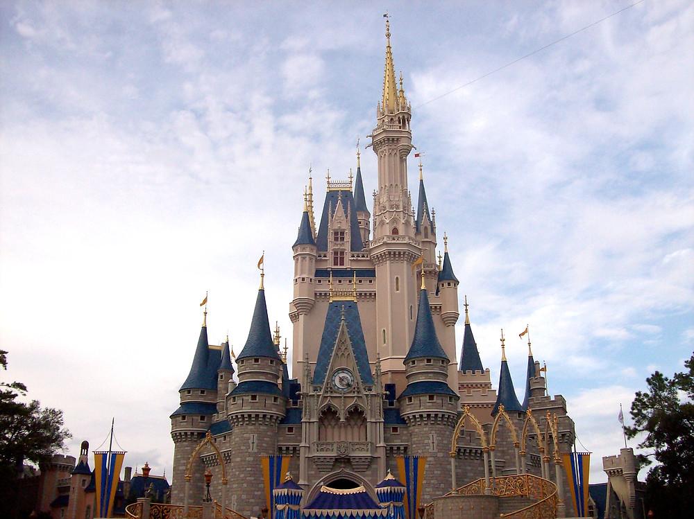 Disney World's Cinderella Castle in Magic Kingdom