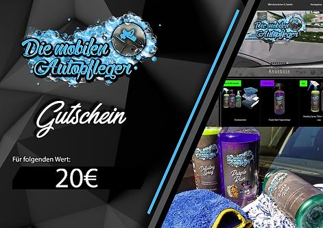20€ Warengutschein Online-Shop
