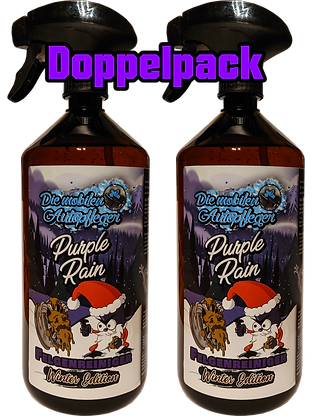 Doppelpack Purple Rain Winteredition