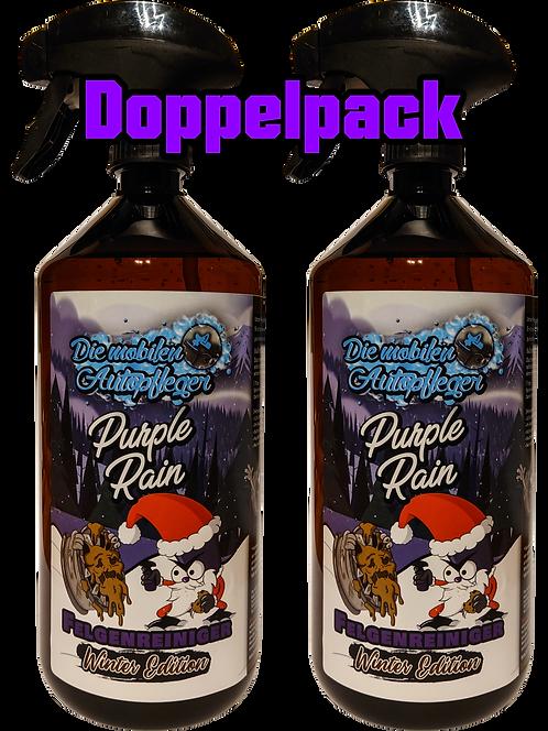 Doppelpack Purple Rain Winteredition