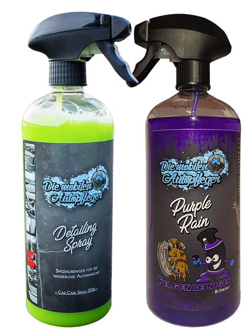 Detailing Spray 750ml + Purple Rain 1 Liter