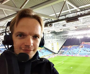 Voetbalcommentator Martijn van Zijtveld