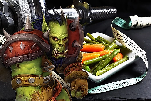 Diet and training with Warcraft 3 coaching