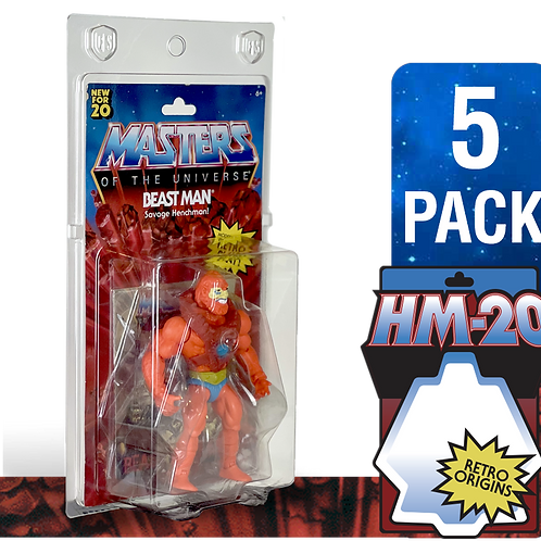 HM-20 FigureShield Clamshell - 5 Pack
