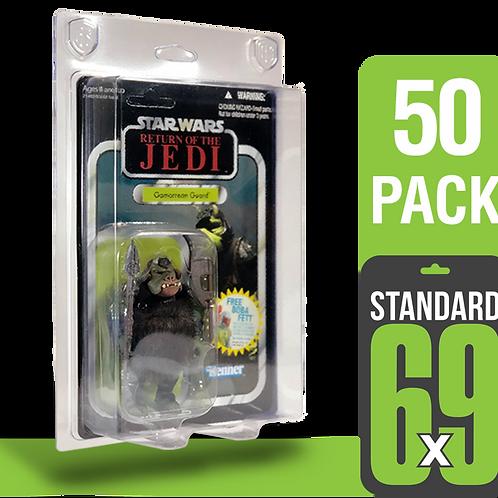 50 Pack Standard 6x9 FigureShield - ST-69