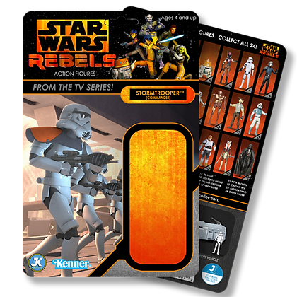 Stormtrooper Commander Rebels card