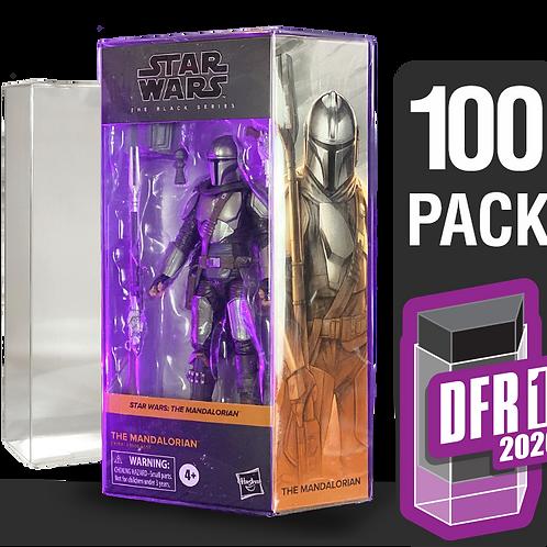 100 Pack Deflector Box 2020 Star Wars Black Series FigureShield - DFR-1