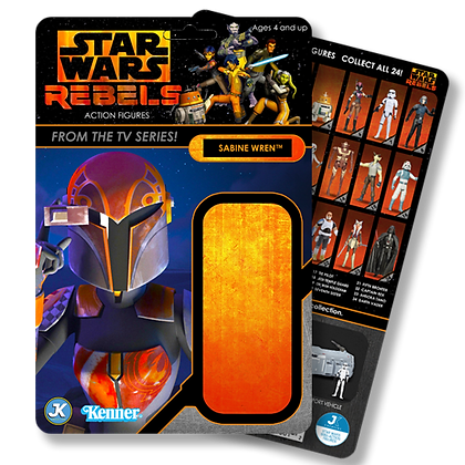 Sabine Wren Rebels card