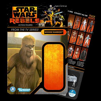 Wookie Warrior Rebels card