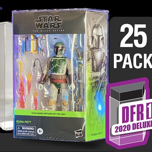 25 Pack Deflector Box 2020 DELUXE Star Wars Black Series FigureShield - DFR-1