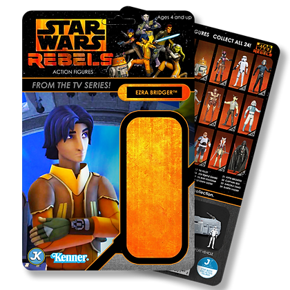 Ezra Bridger Rebels card
