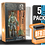 Thumbnail: 5 Pack Deflector Box Orange/Blue Star Wars Black Series FigureShield - DFR-1