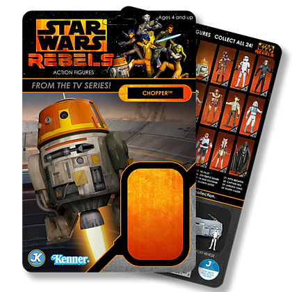 Chopper Rebels card