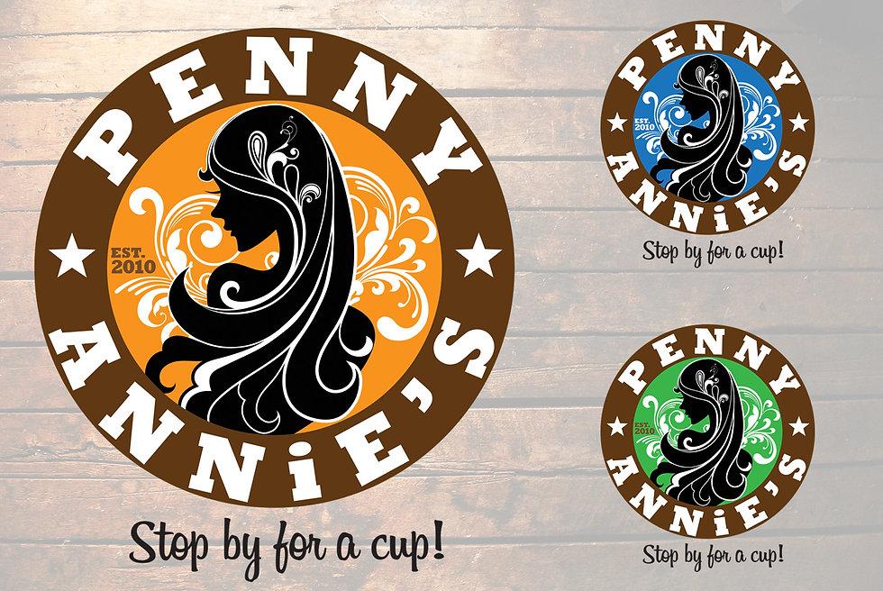 Penny Annies Logo design by JustKozy