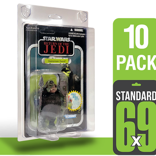 10 Pack Standard 6x9 FigureShield - ST-69