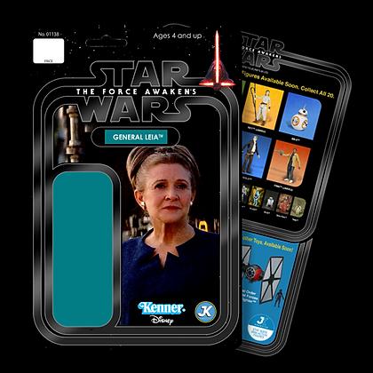General Leia card