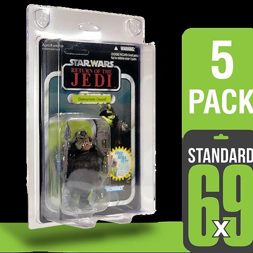 5 Pack Standard 6x9 FigureShield - ST-69