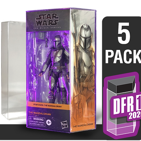 5 Pack Deflector Box 2020 Star Wars Black Series FigureShield - DFR-1