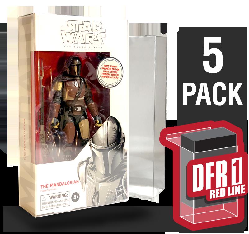 "Deflector DC® MIB Display Case Star Wars The Black Series Blue//Orange 6/"" Figure"