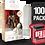 Thumbnail: 100 Pack Deflector Box Red Line Star Wars Black Series FigureShield - DFR-1