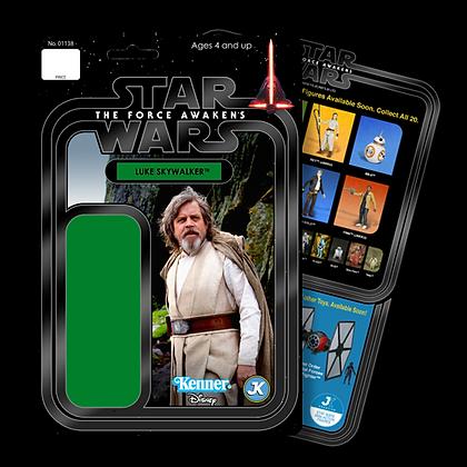 Luke Skywalker card