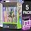 Thumbnail: 5 Pack Deflector Box 2020 DELUXE Star Wars Black Series FigureShield - DFR-1