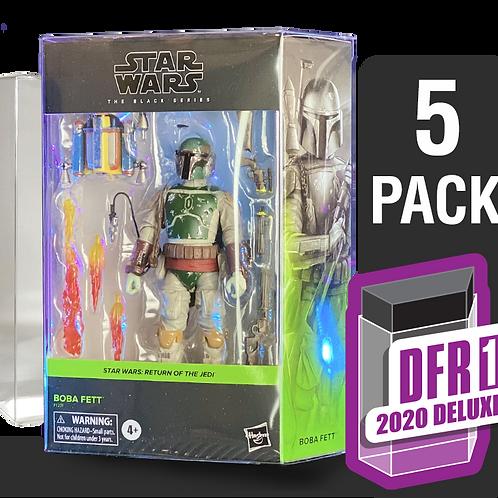 5 Pack Deflector Box 2020 DELUXE Star Wars Black Series FigureShield - DFR-1